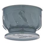 Dinex DX320084 5-oz Insulated Pedestal Base Bowl For Turnbury, Sage