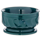 Dinex DX330008 9-oz Insulated Pedestal Base Bowl For Turnbury, Hunter Green