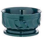 Dinex DX330008 9-oz Insulated Pedestal Base Bowl For Turnbury, Hunter Green