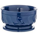 Dinex DX330050 9-oz Insulated Pedestal Base Bowl For Turnbury, Midnight Blue