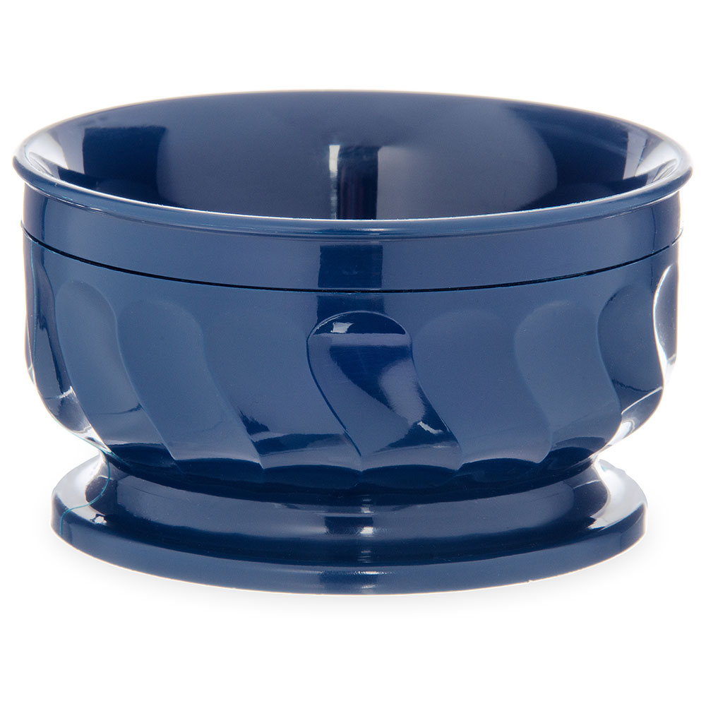Dinex DX330050 9-oz Insulated Pedestal Base Bowl For Turnbury, Midnight Blue