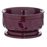 Dinex DX330061 9-oz Insulated Pedestal Base Bowl For Turnbury, Cranberry
