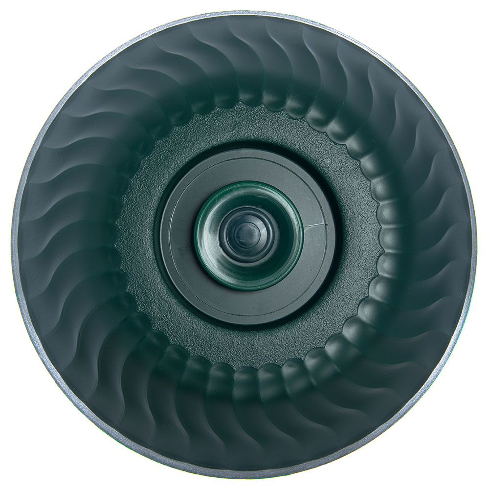 """Dinex DX340008 Turnbury Insulated Dome for 9"""" Plates -  Hunter Green"""