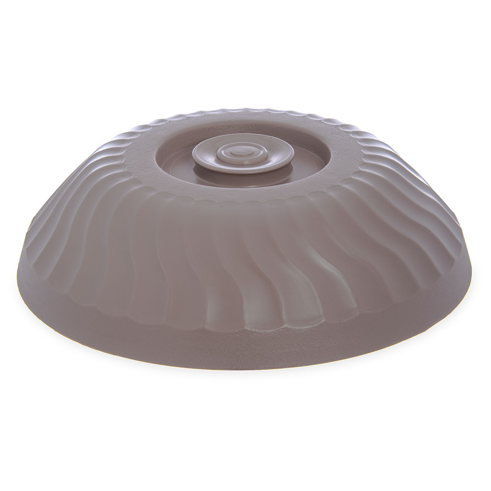 """Dinex DX340031 Turnbury Insulated Dome for 9"""" Plates - Latte"""