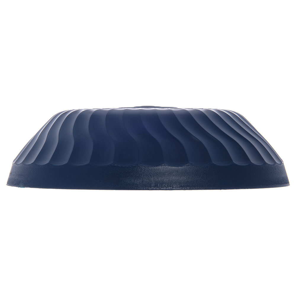 "Dinex DX340050 Turnbury Insulated Dome for 9"" Plates - Midnight Blue"