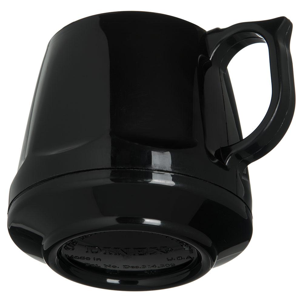 Dinex DX400003 8-oz Heritage Insulated Stackable Mug, Onyx