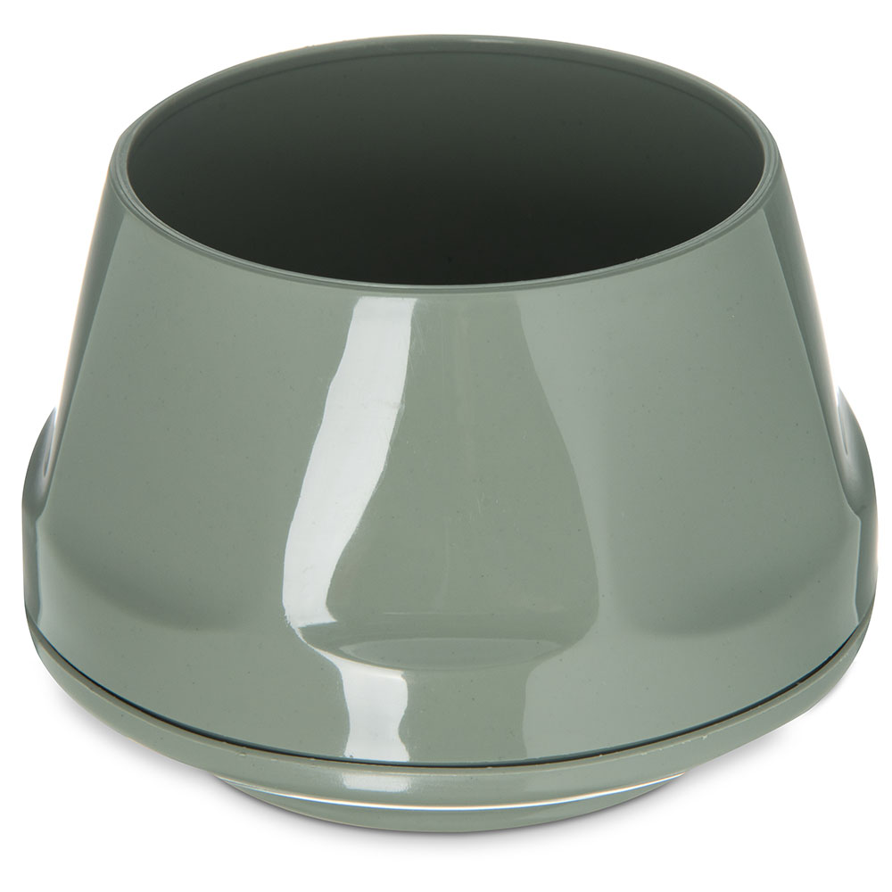 Dinex DX420084 5-oz Heritage Insulated Stackable Bowl, Sage
