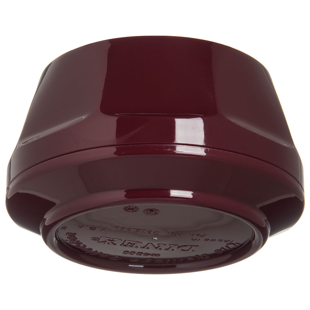 Dinex DX430061 9-oz Heritage Insulated Stackable Bowl, Cranberry