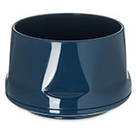 Dinex DX450050 12-oz Insulated Heritage Stackable Bowl, Midnight Blue