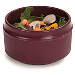 Dinex DX4B61 8-oz Tradition Insulated Reusable Soup Bowl, Cranberry