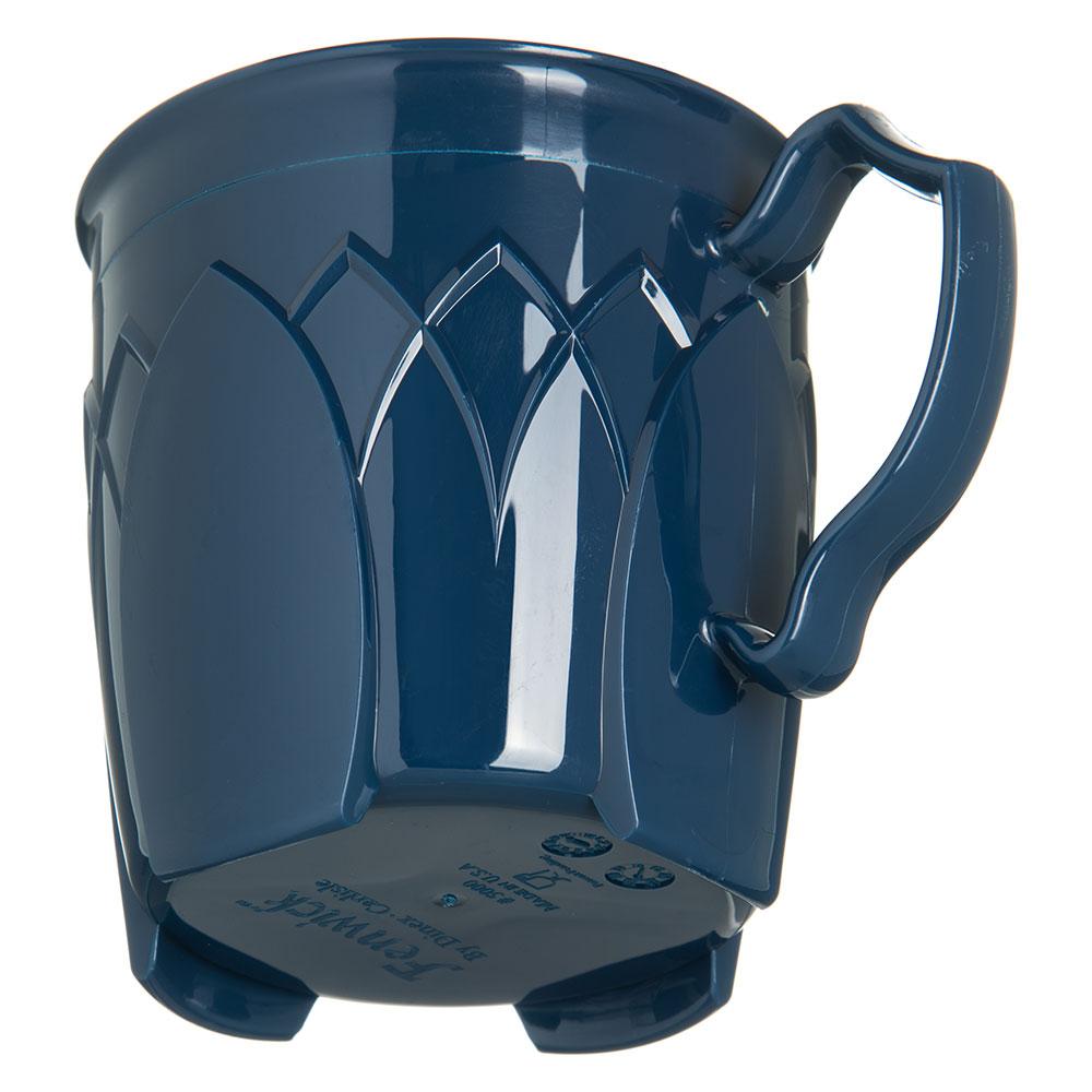 Dinex DX5000-50 Insulated 8-oz Mug w/ Sculpture Design, Midnight Blue