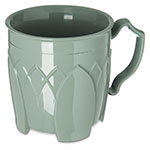 Dinex DX5000-84 Insulated 8-oz Mug w/ Sculpture Design, Sage