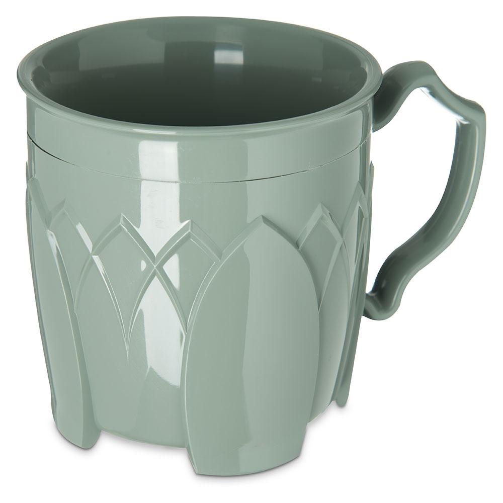 Dinex DX5000-84 Insulated 8-oz Mug w/ Sculpture Design, Sage