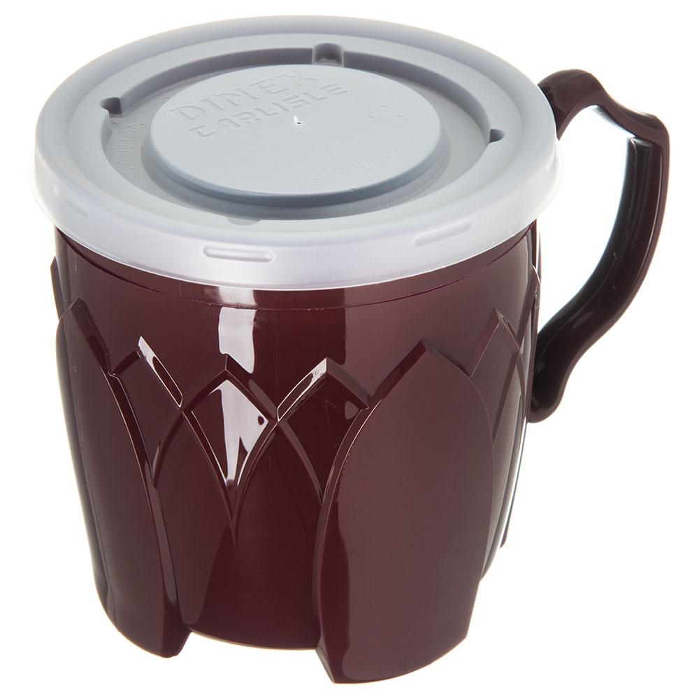 Dinex DX50008714 Lid for DX5000 & DX5200 Mug, Clear