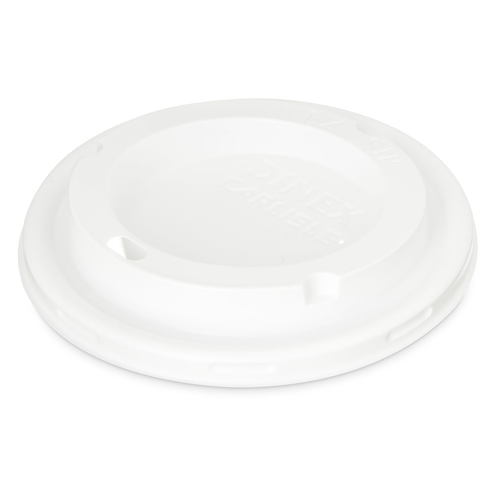 Dinex DX50008775 Disposable Lid for DX5200 Bowl, White