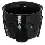 Dinex DX5200-03 Insulated 5-oz Bowl w/ Sculpture Design, Onyx