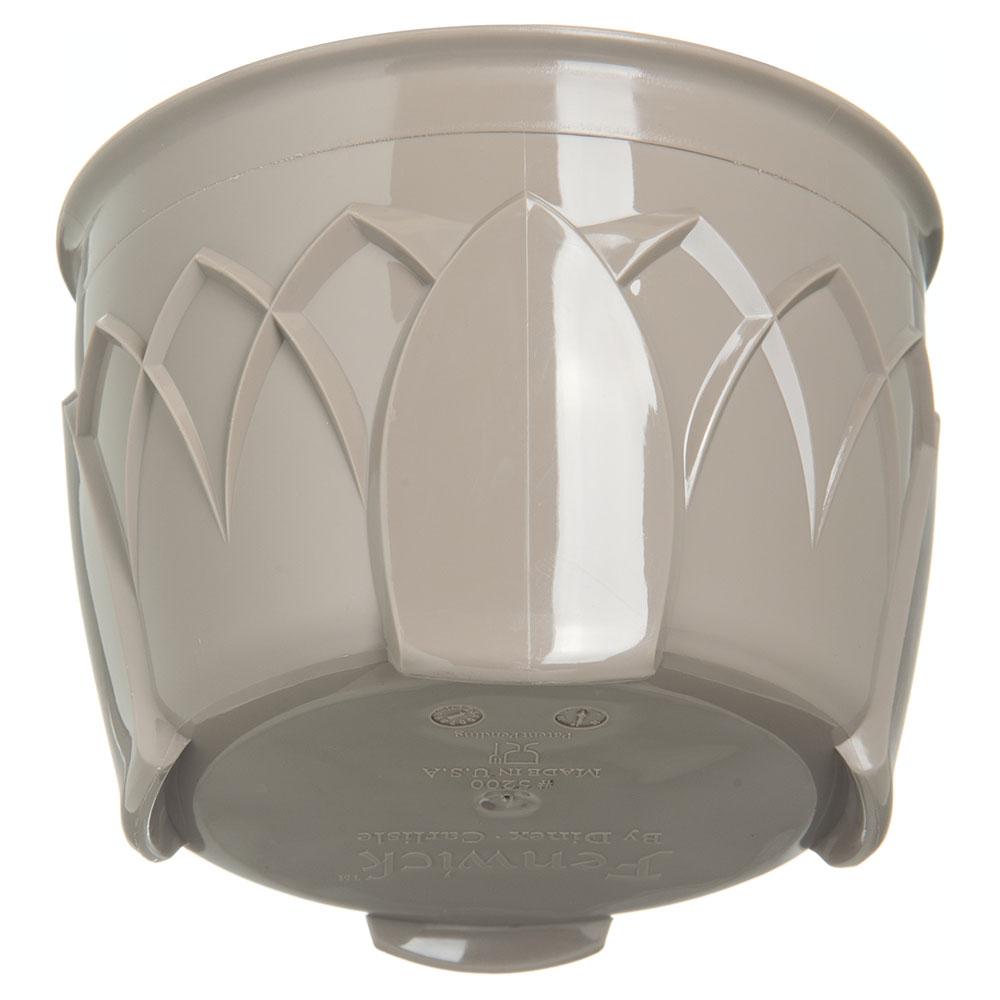 Dinex DX5200-31 Insulated 5-oz Bowl w/ Sculpture Design, Latte