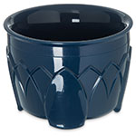 Dinex DX5200-50 Insulated 5-oz Bowl w/ Sculpture Design, Midnight Blue