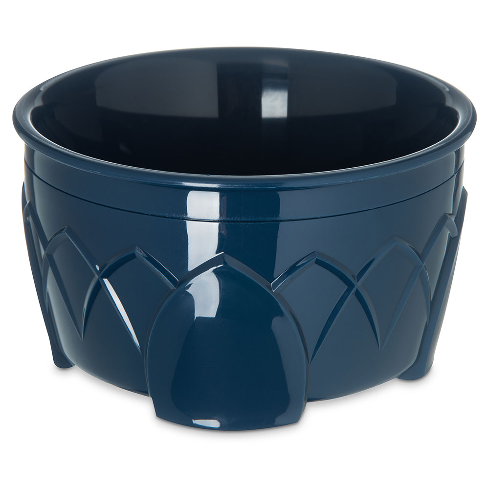 Dinex DX5300-50 Insulated 9-oz Bowl w/ Sculpture Design, Midnight Blue
