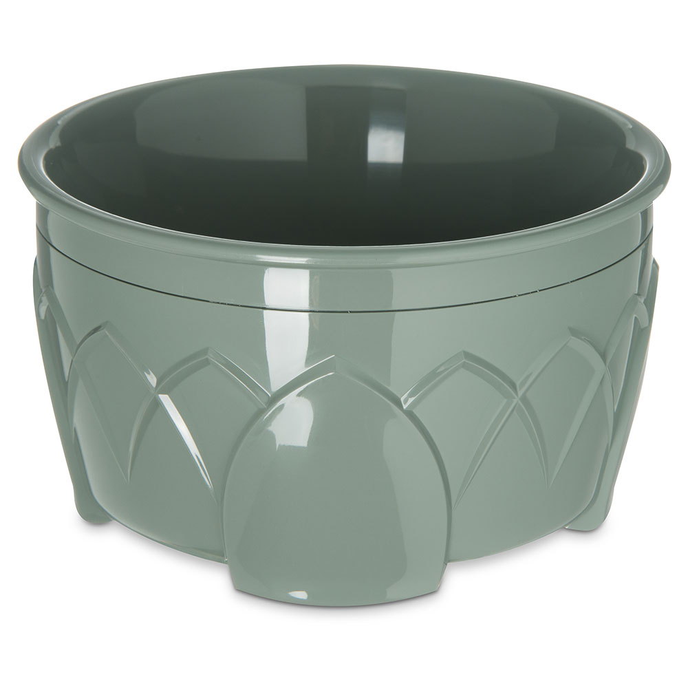 Dinex DX5300-84 Insulated 9-oz Bowl w/ Sculpture Design, Sage