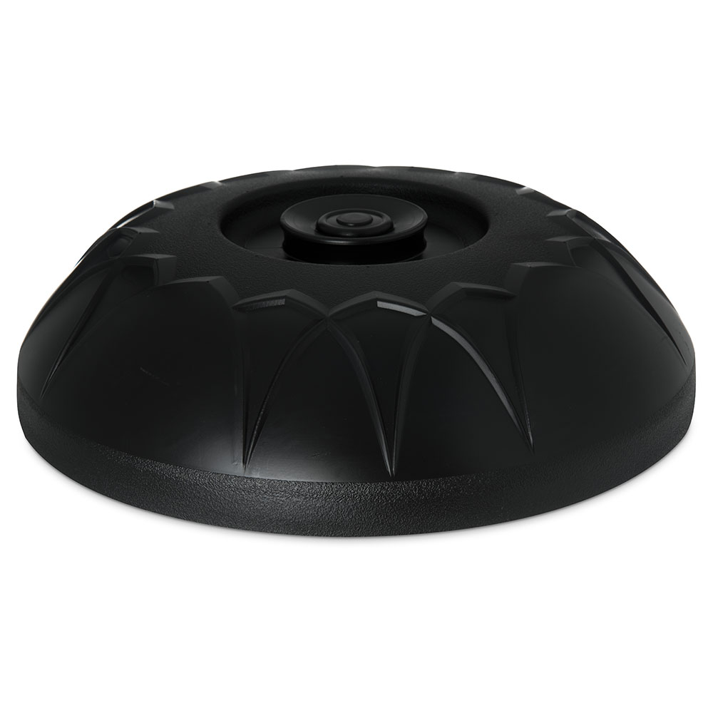 "Dinex DX5400-03 Fenwick Insulated Dome for 9"" Plates - Onyx"