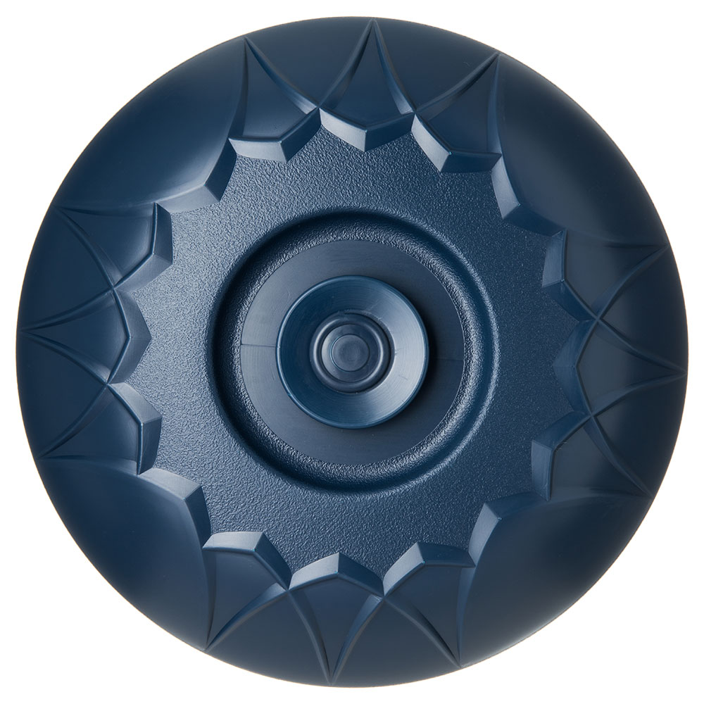 """Dinex DX5400-50 Fenwick Insulated Dome for 9"""" Plates - Midnight Blue"""