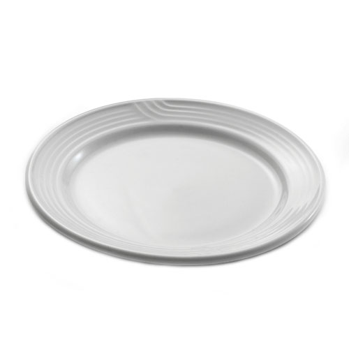 Dinex DX5CBPB02 5.5 Embossed Bread & Butter Plate, Ivory