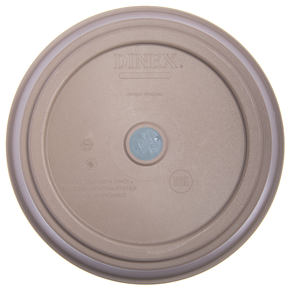 Dinex DX821031 Plastic Base For Smart-Therm Induction Charger, Latte