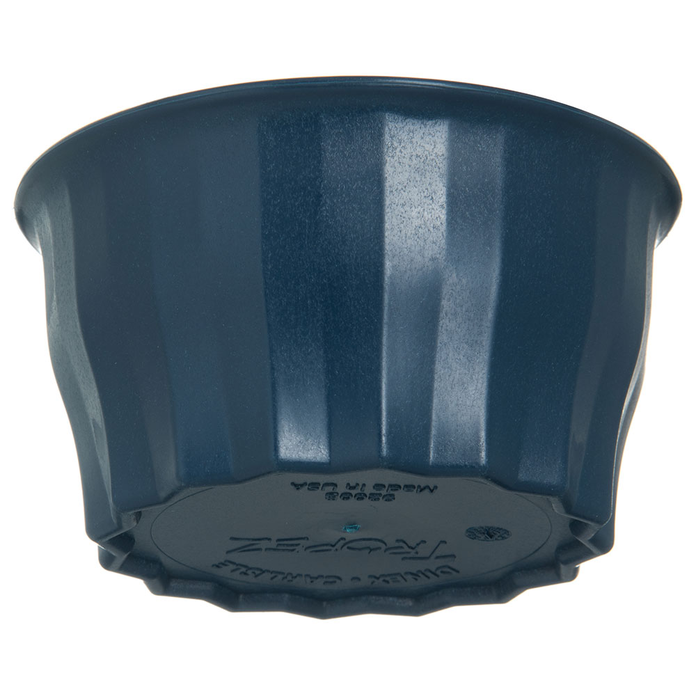 Dinex DX9200B50 5-oz Tropez Convection Thermalization Bowl w/ High Heat Resin, Midnight Blue