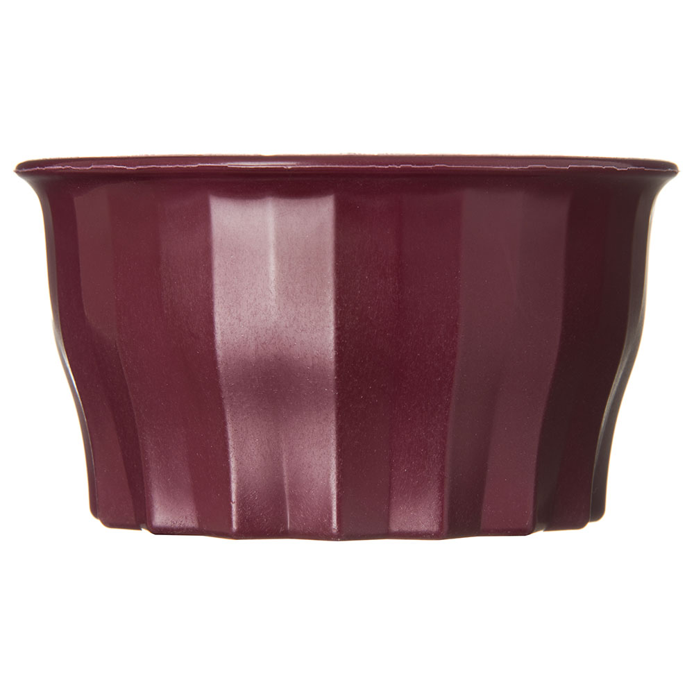 Dinex DX9200B61 5-oz Tropez Convection Thermalization Bowl w/ High Heat Resin, Cranberry