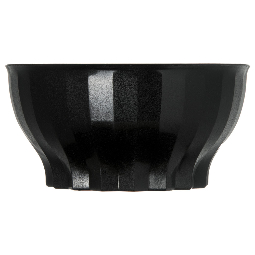 Dinex DX9300B03 9-oz Tropez Convection Thermalization Bowl w/ High Heat Resin, Onyx