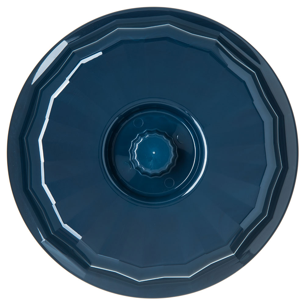 """Dinex DX9407B50 7"""" Tropez Convection Entree Dome w/ High Heat Resin, Midnight Blue"""