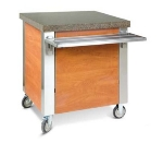 Dinex DXDCR90 Corner Cabinet w/ 90-degree, Stainless Top, Front & End Panels
