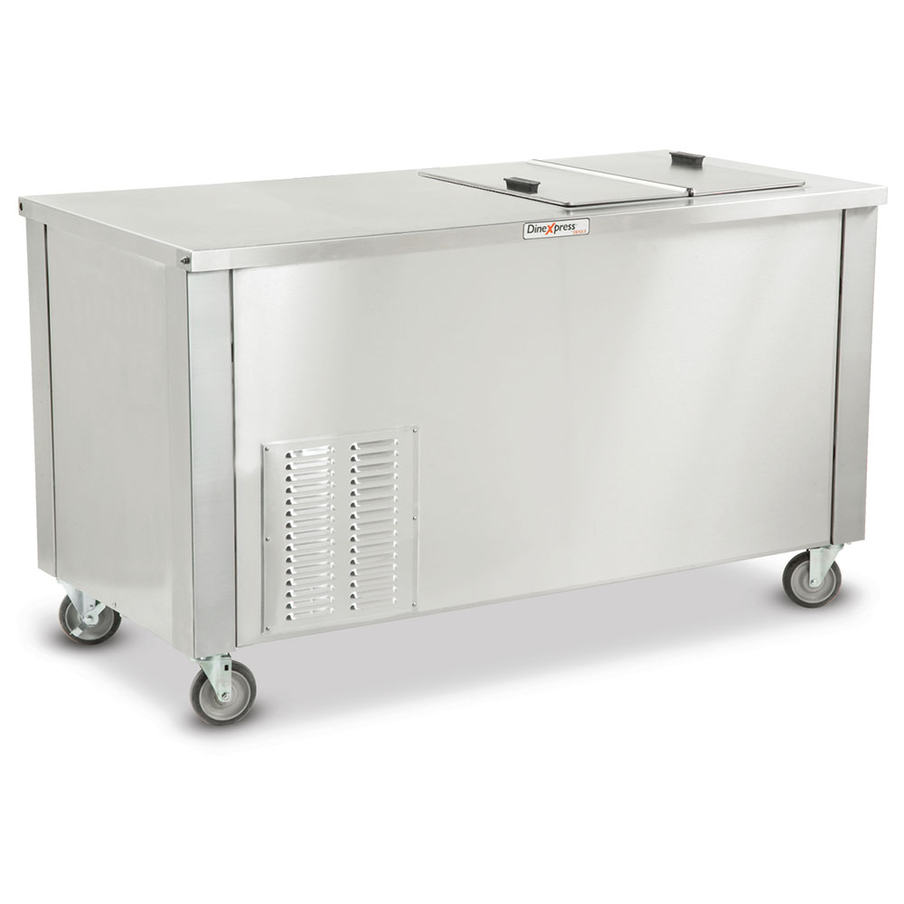 "Dinex DXDICF 36"" Mobile Ice Cream Freezer w/ 780-Cup Capacity, 120v"
