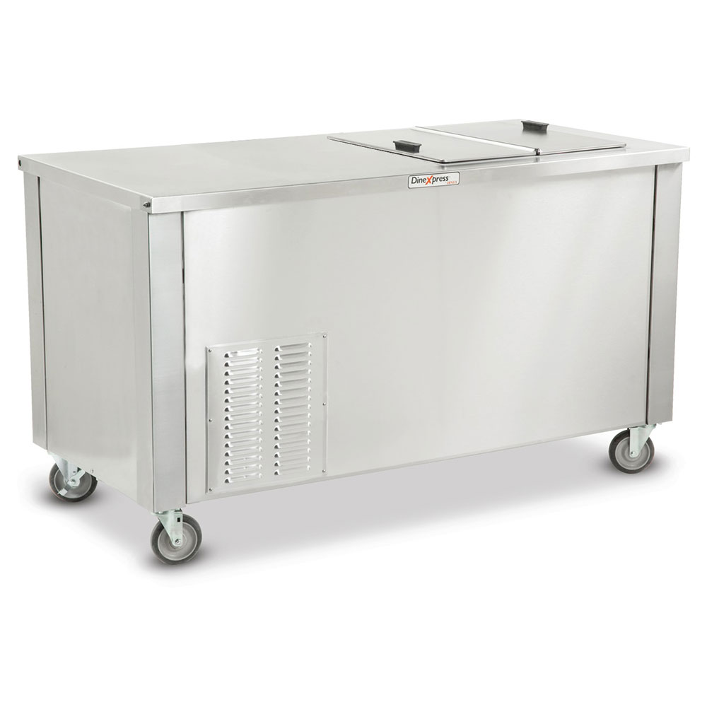 Dinex DXDMC Milk Cooler w/ Top Side Access - (448) Half Pint Carton Capacity, 115v