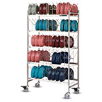 Dinex DXIBDRP200 5-Level Mobile Drying Rack for Dishes