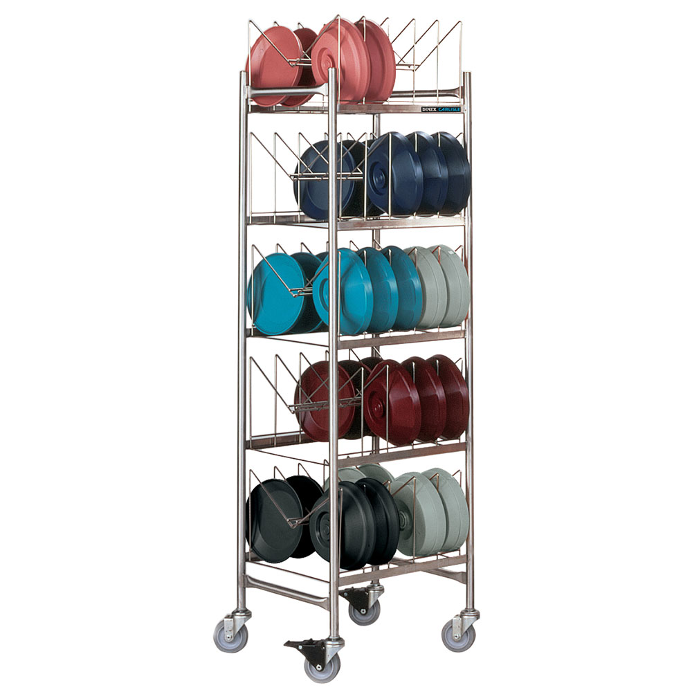 Dinex DXIBDRS180 5-Level Mobile Drying Rack for Dishes