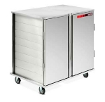 Dinex DXICT202D 20-Tray Ambient Meal Delivery Cart