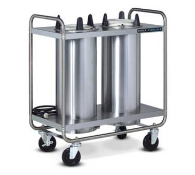 Dinex DXIDP3O1012 10-1/8-in Open Tube Plate Dispenser w/ 150 Plate Or 108 Bowl Capacity