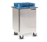 Dinex DXIDRE2020 Enclosed Mobile Rack Dispenser w/ Self-Leveling, For 20 x 20-in
