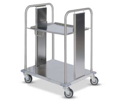 Dinex DXIDRS2020 Open Mobile Rack Dispenser w/ Self-Leveling for 20 x 20""