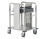 Dinex DXIDT1S1622 Open Mobile Tray Dispenser w/ 150 Tray Capacity, 16 x 22""