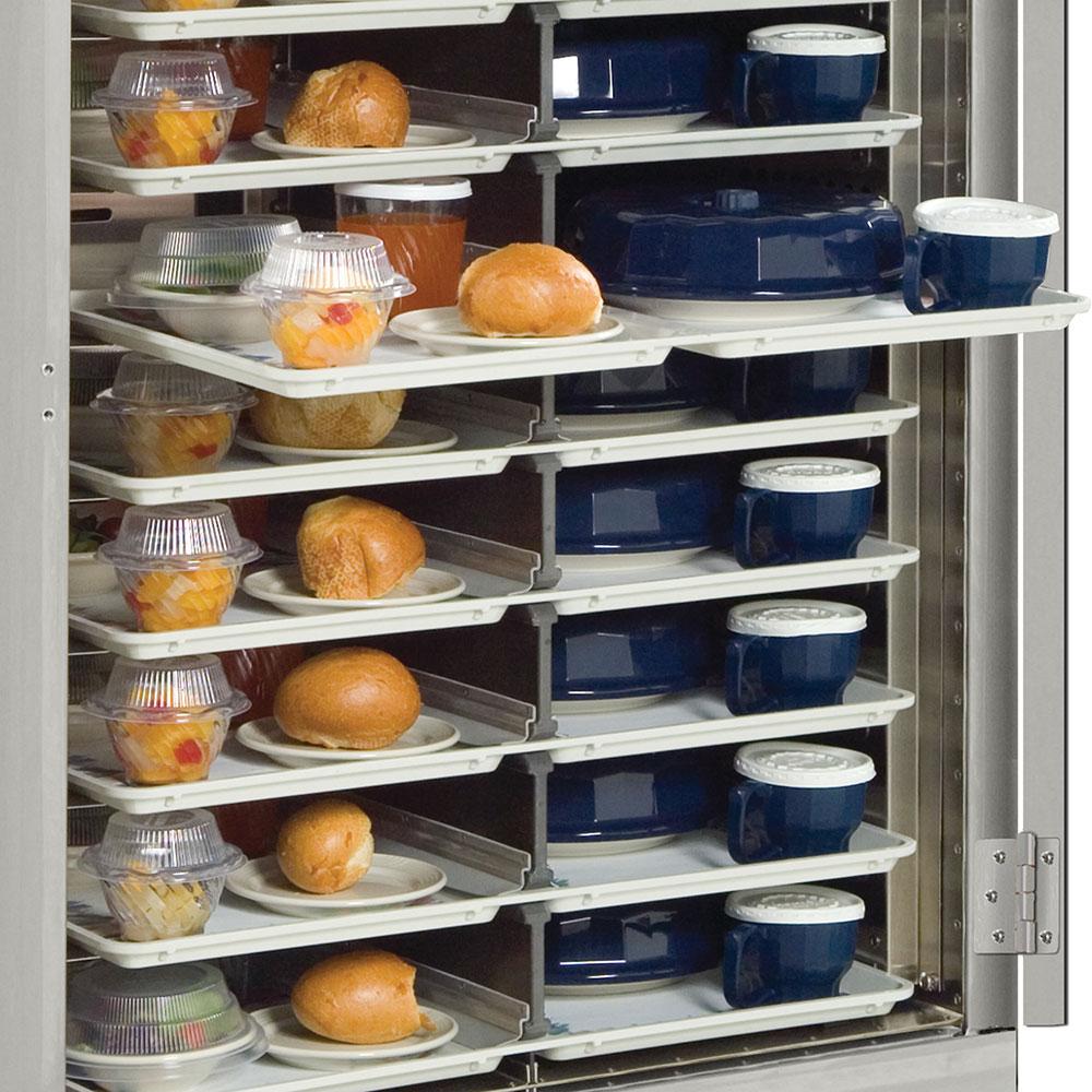 Dinex DXMOC20 20-Tray Combination Meal Delivery Cart, 120v