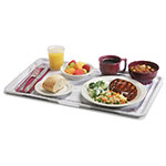 """Dinex DXSC1531002 Thermal-Aire Patient Tray, 12 x 21"""", Light Yellow"""