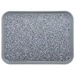 "Dinex DXSMC1520NSM23 Non-Skid Cafeteria Tray - Fiberglass, 15x20"", Gray"