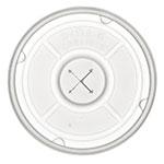 Dinex DXTT58 Disposable Lid w/ Straw Slot for DX4GC, DX4GC9 & DX4C12 Tumblers