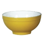 Emile Henry 032121 EA Ceramic Cereal Bowl, 5.5-in Round, Two-Tone, Citron Yellow
