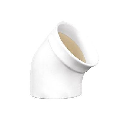 Emile Henry 110201 EA Ceramic Salt Pig, 4-in Round, Nougat White