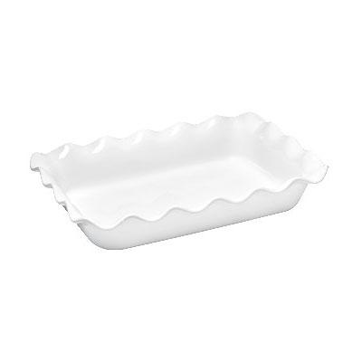 "Emile Henry 111987 3.3-qt Ceramic Baking Dish, 14x10x2.75"", Flour"