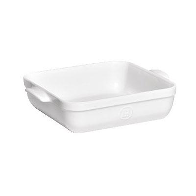 "Emile Henry 112040 9"" Square Ceramic Baking Dish w/ 2.5-qt Capacity, Flour"